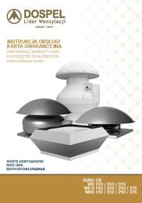 Dospel wentylacja instrukcja wentylatory dachowe