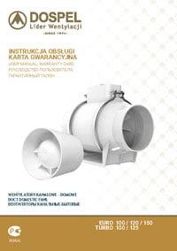 Dospel wentylacja instrukcja wentylatory kanałowe domowe